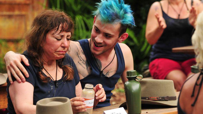 Tina York und Daniele Negroni in der ersten Dschungelcamp-Folge