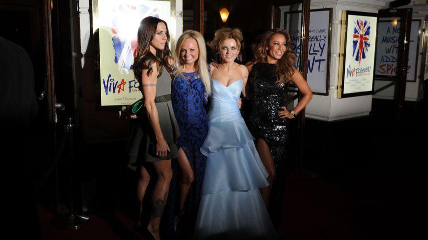Spice Girls bei einem Auftritt in London 2012