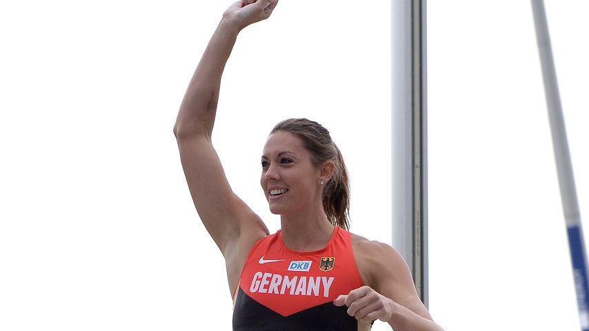 Stabhochspringerin Katharina Bauer