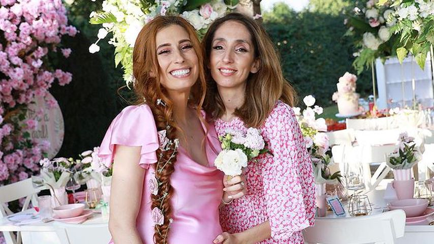 Stacey Solomon und ihre Schwester Jemma im September 2021