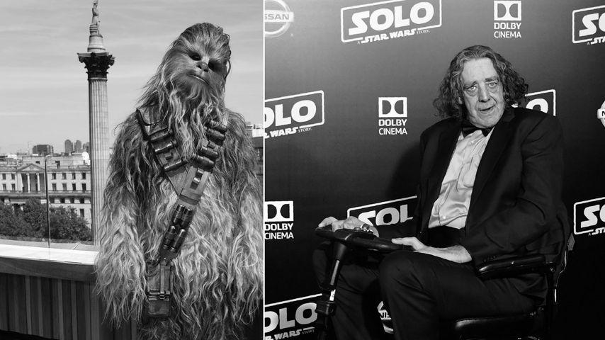 """Star Wars""-Crew trauert: Chewbacca-Peter Mayhew (†) ist tot"