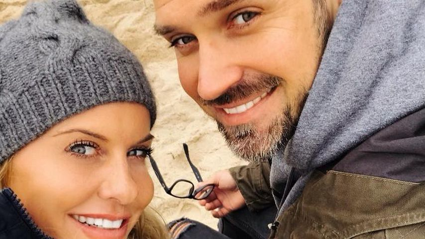 Stefan Gritzka mit seiner Partnerin, September 2020