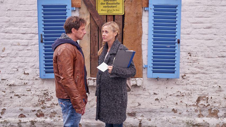 """Stefan (Hendrik Duryn) und Karin (Jessica Ginkel) bei """"Der Lehrer"""""""
