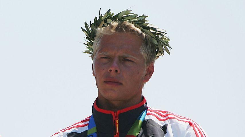 Stefan Henze und Marcus Becker beim Olympia-Sieg 2004 in Athen
