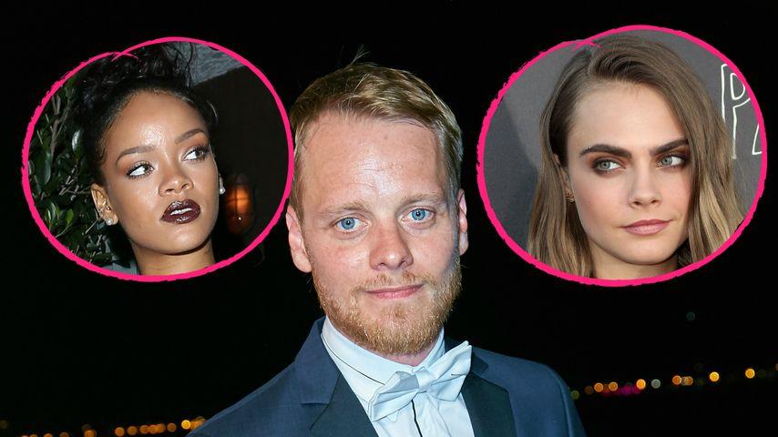 """Sexy Agentinnen: """"Tatort""""-Kommissar dreht mit Rihanna & Cara"""