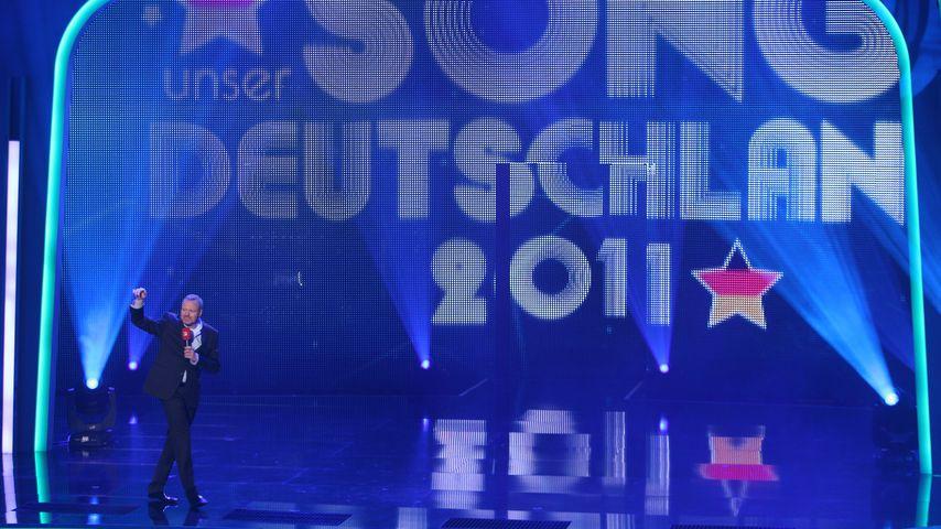 """Stefan Raab bei """"Unser Song für Deutschland"""" im Jahr 2011"""