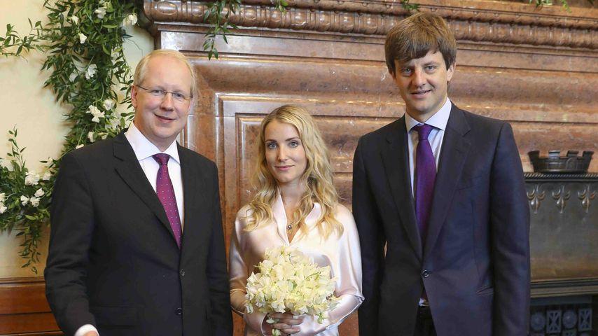 Stefan Schostok, Prinzessin Malysheva und Ernst August Erbprinz von Hannover