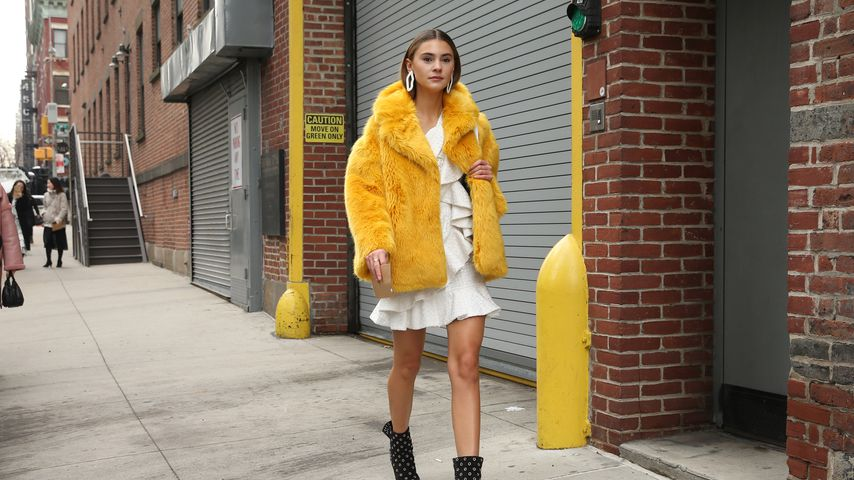 Stefanie Giesinger in New York 2018