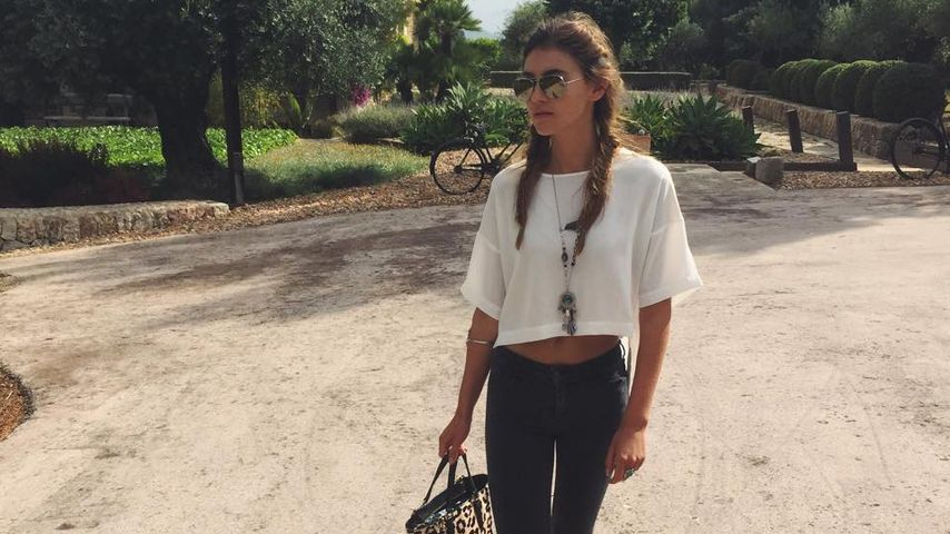 Super trendy: Stefanie Giesinger im coolen Freizeit-Look