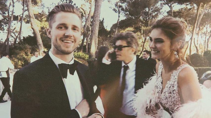 Stefanie Giesinger und ihr Freund Marcus Butler in Cannes