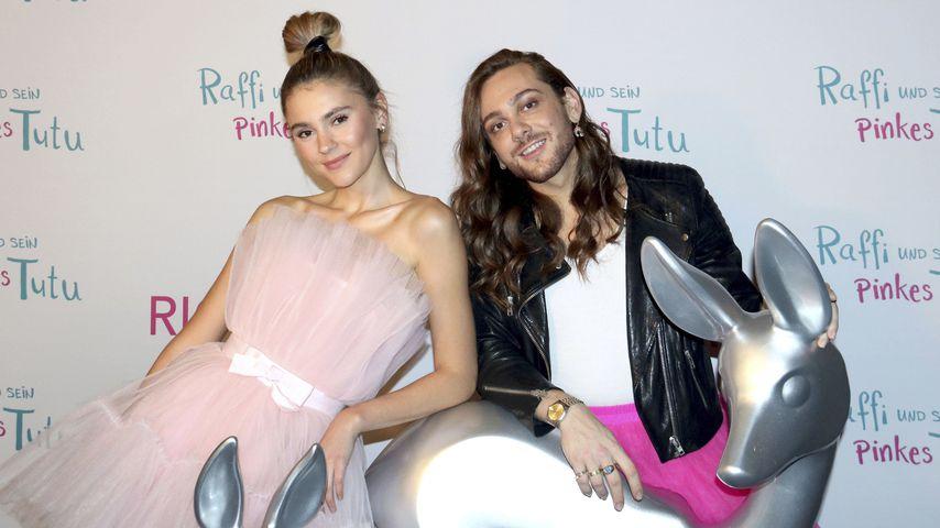 Stefanie Giesinger und Ricardo Simonetti, November 2019