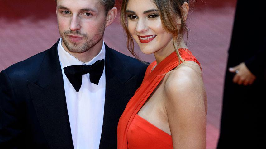 Stefanie Giesinger und ihr Freund Marcus Butler auf der Berlinale 2017