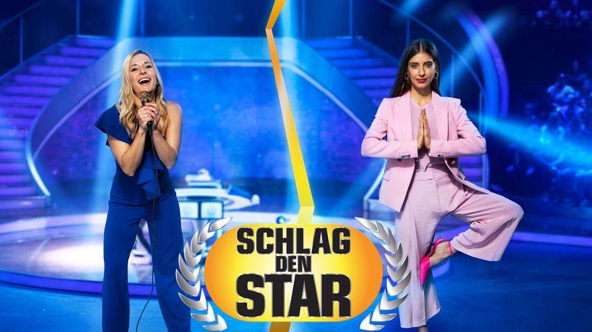 """Stefanie Hertel und Cathy Hummels, Kandidaten bei """"Schlag den Star"""""""