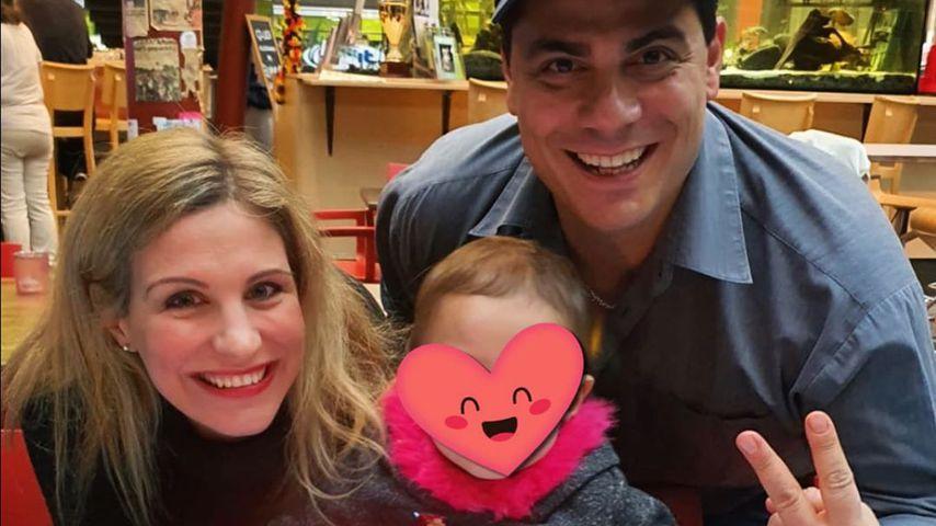 Stefanie Schanzleh und Silva Gonzalez mit Tochter Ella