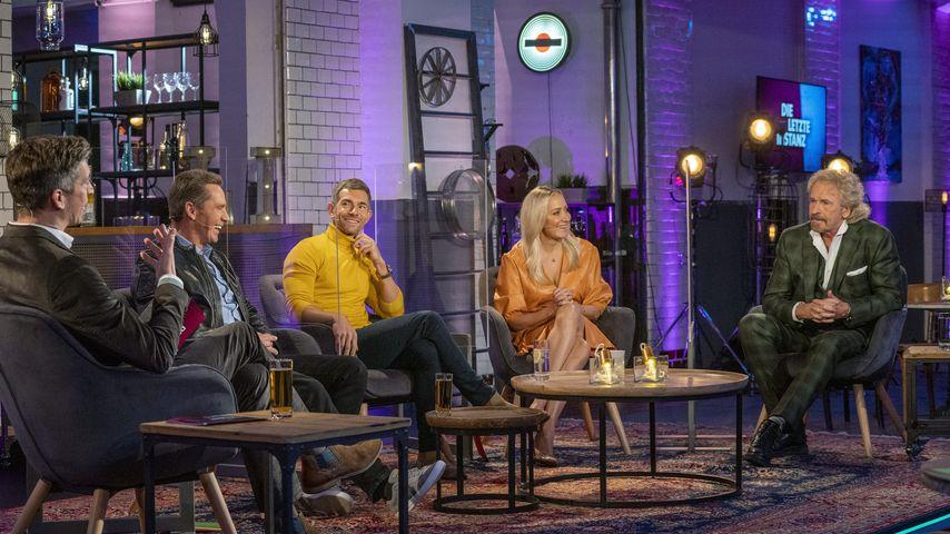 Steffen Hallaschka, Jürgen Milski, Micky Beisenherz, Janine Kunze und Thomas Gottschalk