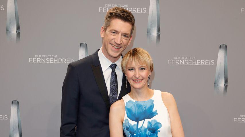 Steffen Hallaschka und seine Frau Anne-Katrin beim Deutschen Fernsehpreis 2018