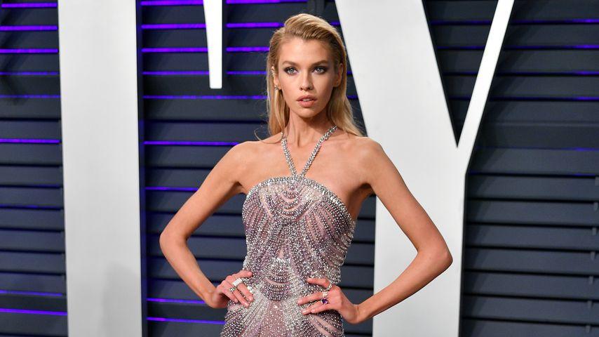 Victoria's Secret-Model Stella Maxwell bei der Vanity Fair Oscar Party 2019