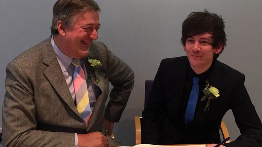 "Unter der Haube: Stephen Fry hat ""Ja!"" gesagt"