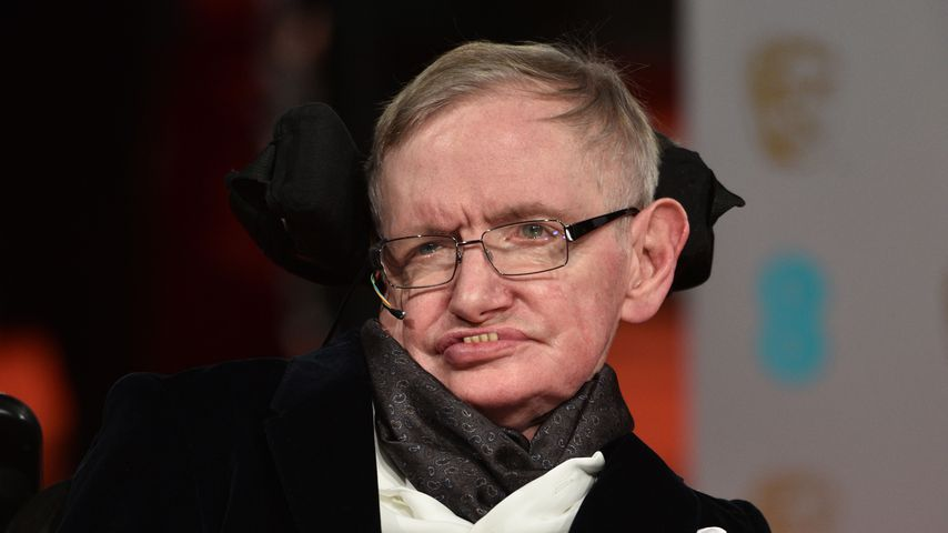 Stephen Hawking bei den British Academy Film Awards 2015 in London