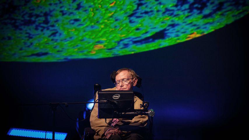 Stephen Hawking beim Starmus Festival auf Teneriffa