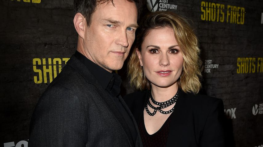 Stephen Moyer und Anna Paquin 2017 in Hollywood