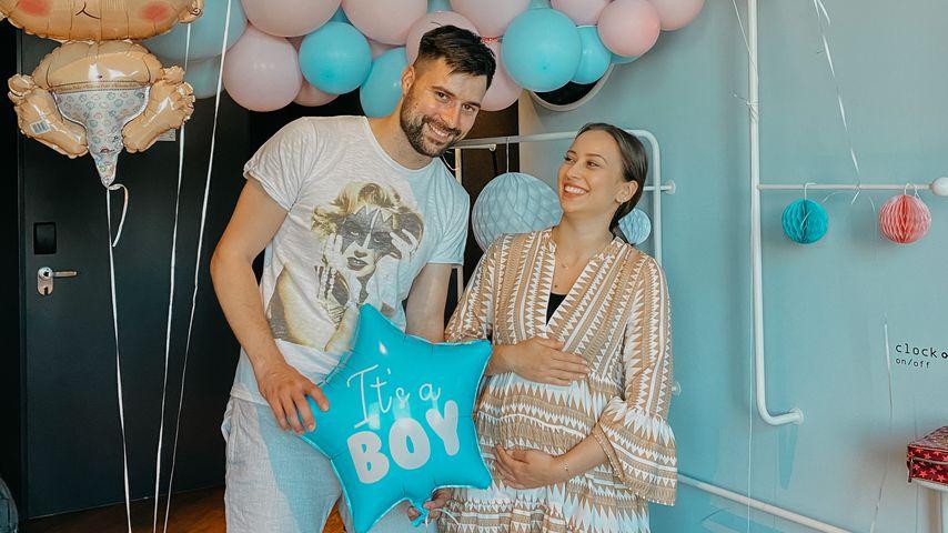 Steve und Svenja im August 2021