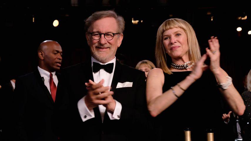 Steven Spielberg und seine Frau Kate Capshaw