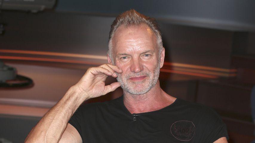 """Sting bei der ZDF-Talkshow """"Markus Lanz"""""""