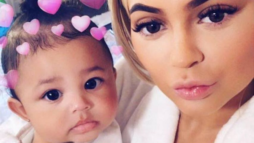 Stormi Webster mit ihrer Mutter Kylie Jenner