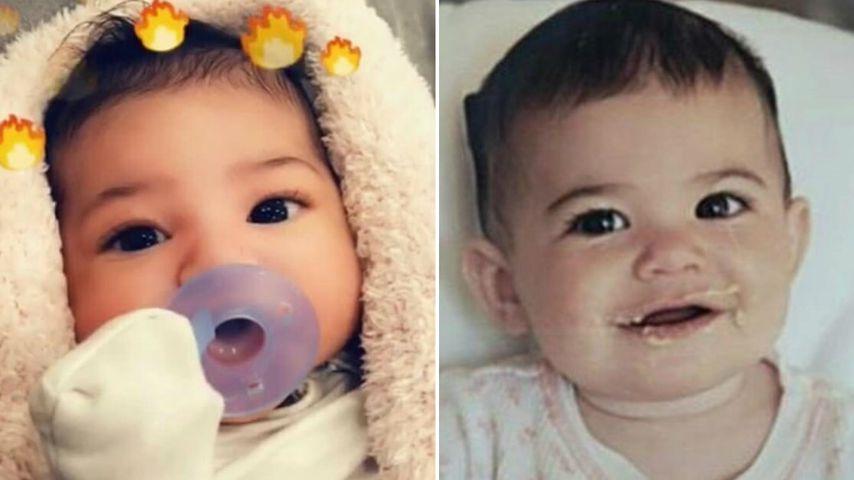 Babyfoto-Vergleich: Sieht Stormi aus wie Mama Kylie Jenner?