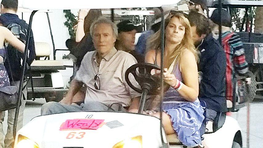 Suki Waterhouse und Clint Eastwood