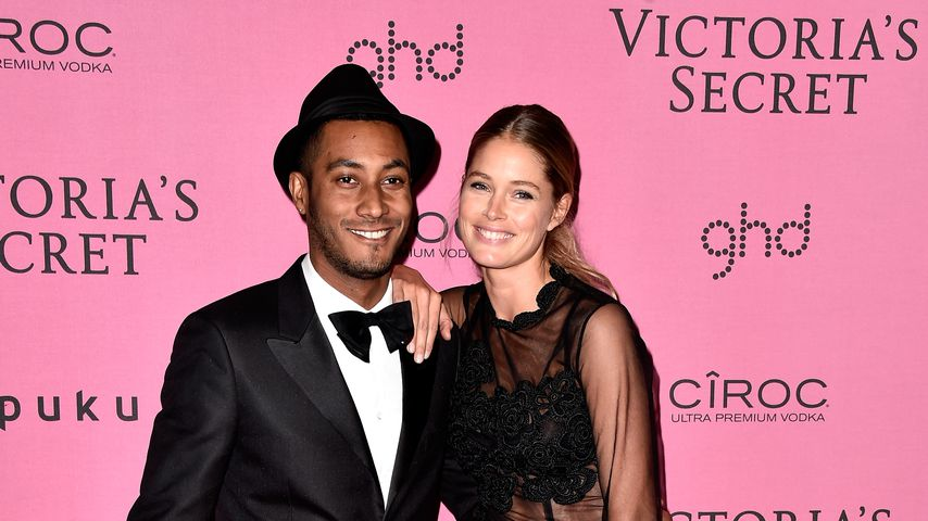 Sunnery James und Doutzen Kroes auf der Victoria's Secret Fashion Show 2014