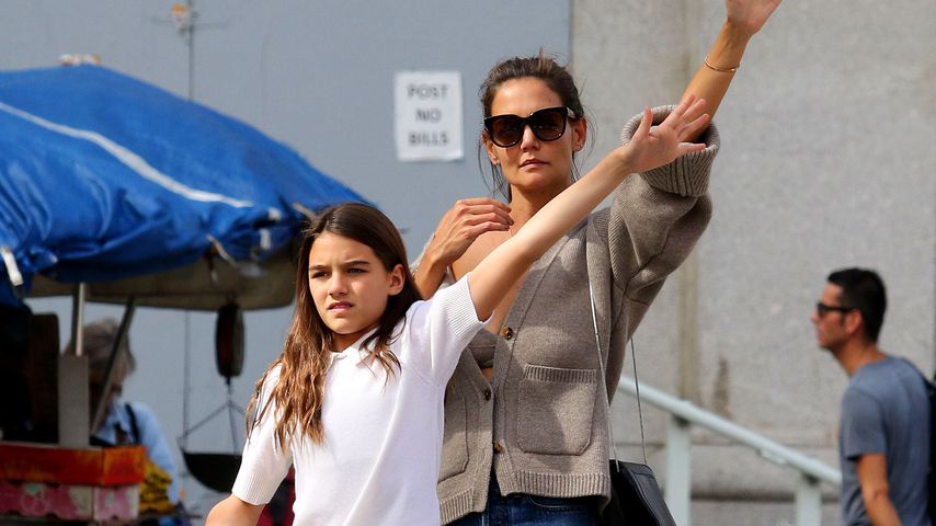 Suri Cruise und Katie Holmes in New York, 2019