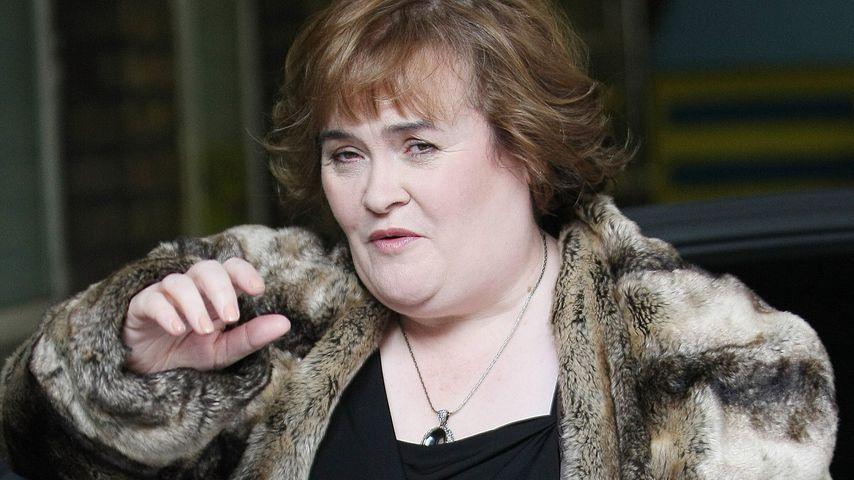 Familien-Zoff eskaliert: Polizei-Einsatz bei Susan Boyle!