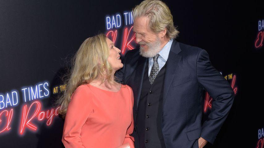 Susan Geston und Jeff Bridges im September 2018