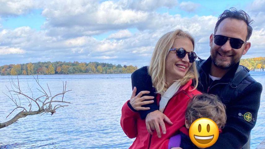 Susan Sideropoulos und ihre Familie im Oktober 2020