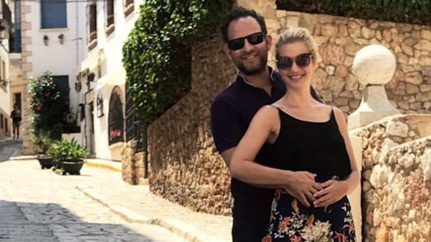 Susan Sideropoulos und Jakob Shtizberg im Urlaub