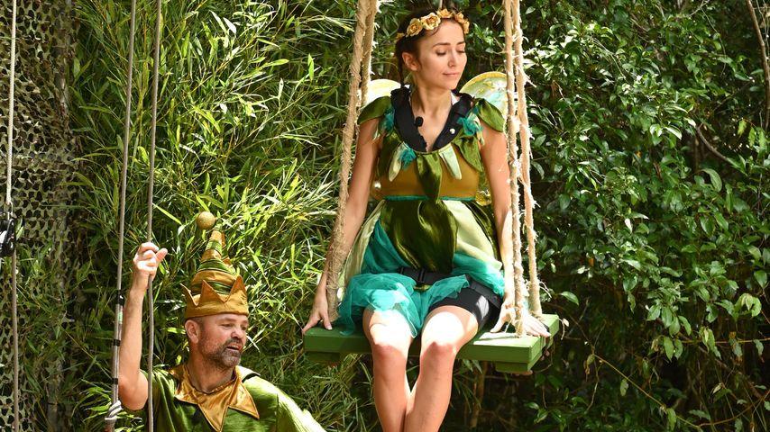 Sven Ottke und Anastasiya Avilova an Tag 11 im Dschungelcamp