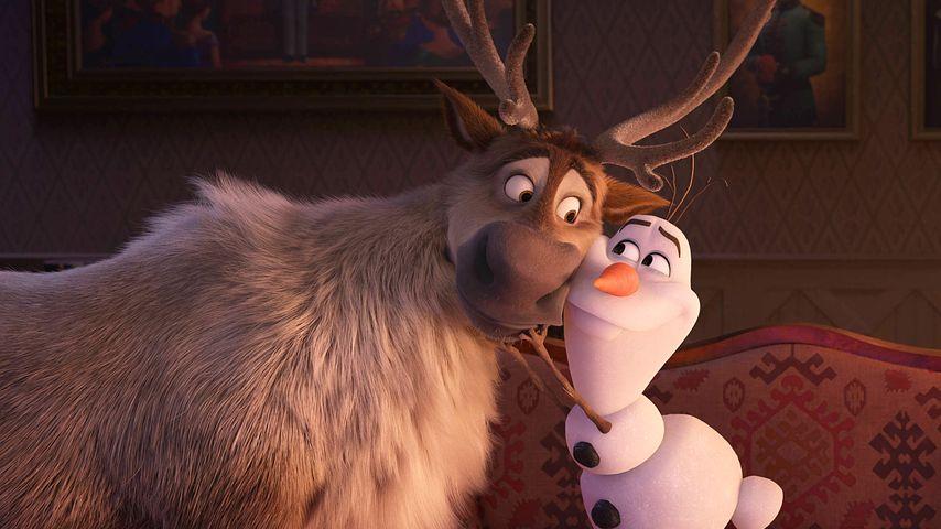 """Sven und Olaf von """"Frozen"""""""