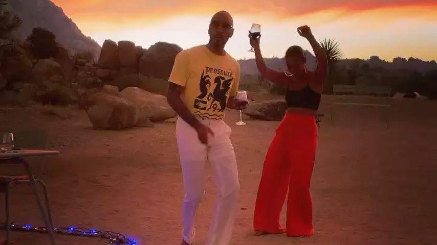 Swizz Beatz und Alicia Keys