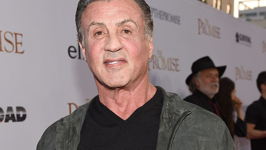 """Sylvester Stallone bei der """"The Promise""""-Premiere"""