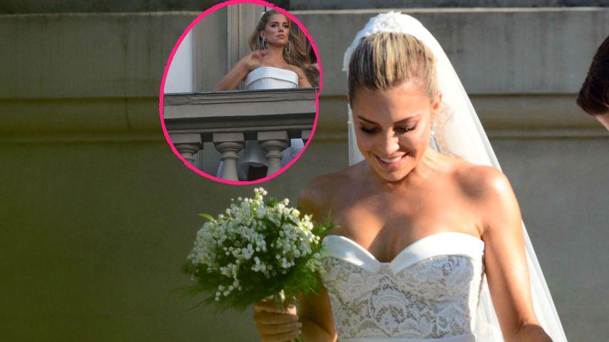 Braut Sylvie Meis' Kleiderwechsel: Welcher Look ist schöner?