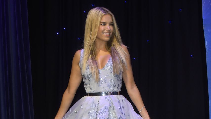 "Sylvie Meis bei der ""Holiday on Ice""-Show in Hamburg"