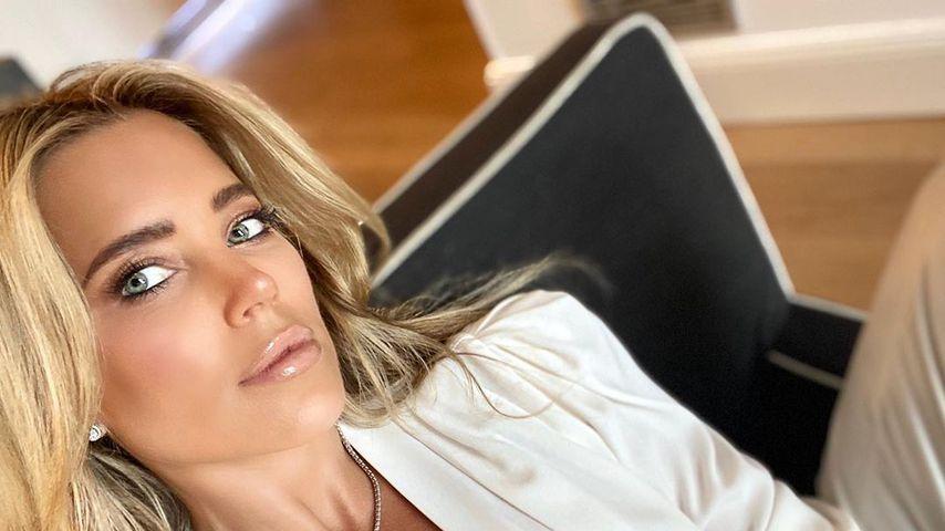 Ganz stolz: Sylvie Meis hat ihr Singleleben sehr genossen