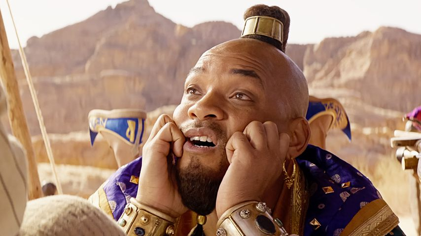 "Szene aus dem Disney-Film ""Aladdin"""