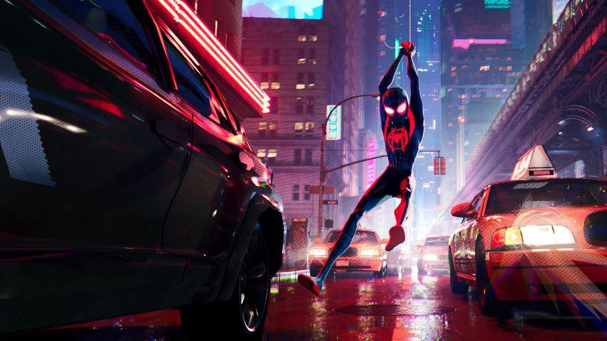 """Szene aus """"Spider-Man: Into the Spider-Verse"""""""