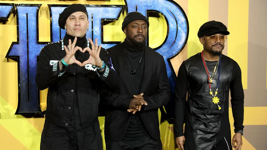 "The Black Eyed Peas auf der Europa-Premiere von ""Black Panther"" in London"