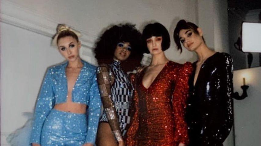 Tamara, Maureen, Anastasia und Sarah von GNTM 2020