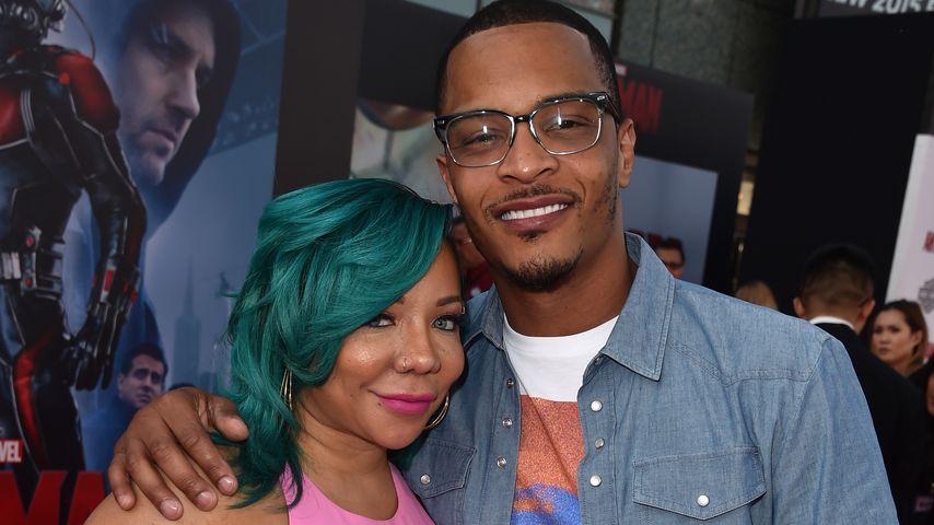 Tameka Harris und Rapper T.I. im Juni 2015