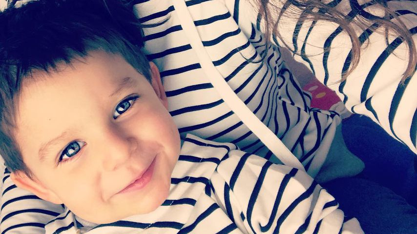 Tanja Tischewitsch mit Sohn Ben
